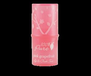 100% Pure Pink Grapefruit Tint