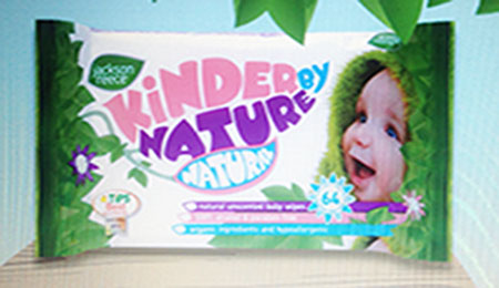 KINDER BY NATURE BABY WIPES