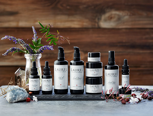 LAUREL WHOLE PLANT ORGANICS COMPLETE FACIAL LINE