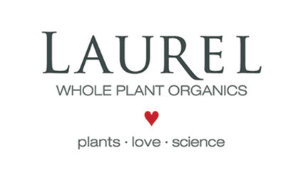 LAUREL WHOLE PLANT ORGANICS LOGO