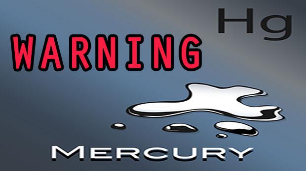 WARNING MERCURY IN SKIN CARE