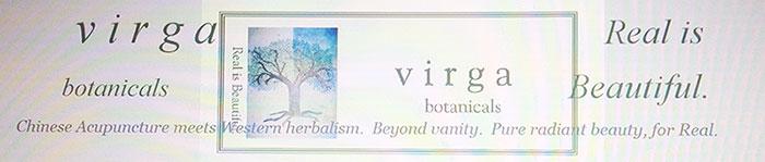 virga botanicals logo