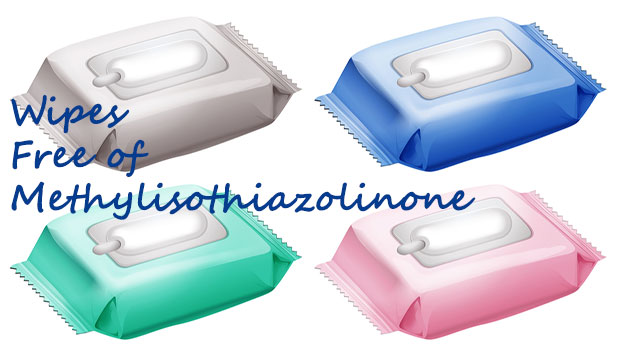 WIPES FREE OF METHYLISOTHIAZOLINONE