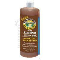 DR WOODS ALMOND SOAP WITH SHEA