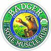 BADGER BALM SORE MUSCLE RUB, COOLING BLEND