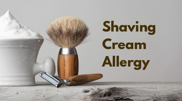 Shaving Cream Allergy