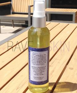 CHIKYU FACIAL CLEANSING OIL BACK LABEL