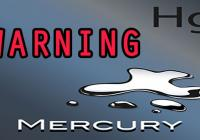 WARNING MERCURY IN SKIN CARE