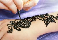 Black Henna Tattoo