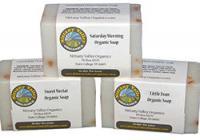 NITTANY VALLEY ORGANIC SOAP SAMPLER 3 BARS
