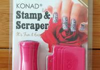 Konad Stamp and Scraper Kit