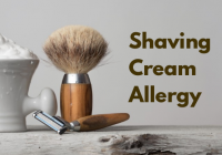 Shaving Cream Allergy